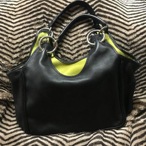 29a831d284 Carla Sade Handbags - Genuine Black Leather Purse